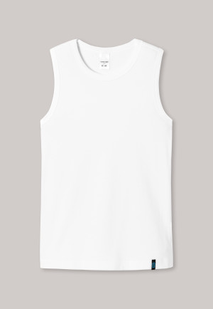 Shirt breite Träger weiß - 95/5