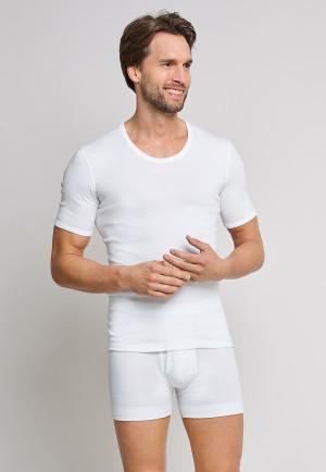 Shirt korte mouwen wit - Cotton Feinripp
