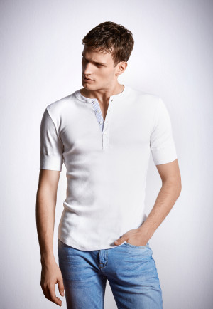 Shirt korte mouwen wit - Revival Karl-Heinz