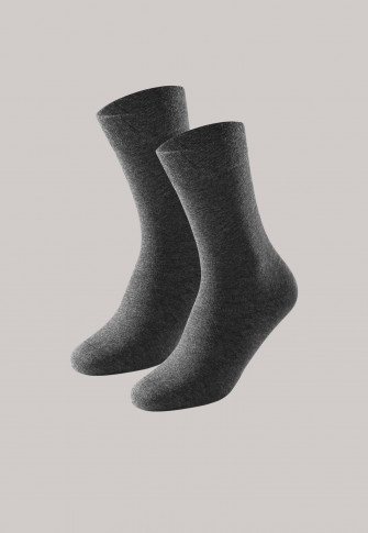 Women's socks 2-pack anthracite heather - Long Life Cool