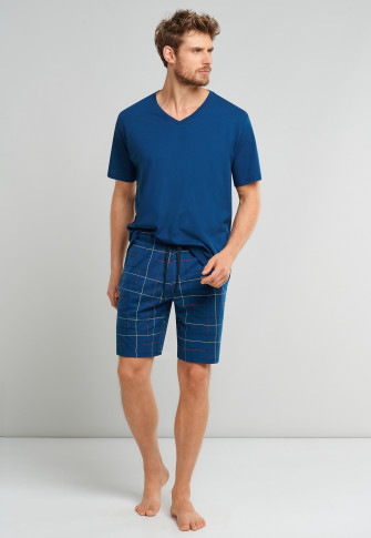 Bermuda shorts admiral checkered - Mix + Relax