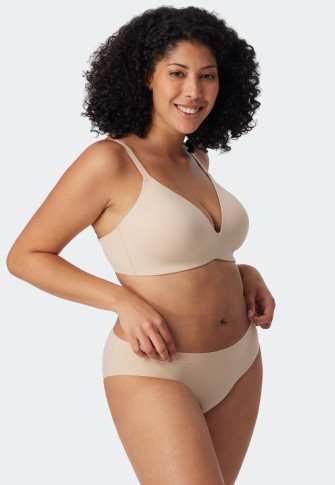 Bra padded sand without underwire - Invisible Soft