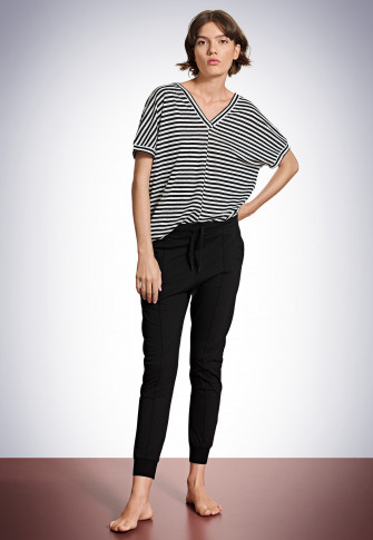 Pantalon long noir - Revival Maren
