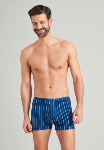 Shorts Organic Cotton Webgummibund gestreift mehrfarbig - Fashion Daywear
