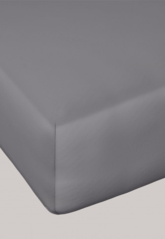 Jersey fitted sheet anthracite - SCHIESSER Home