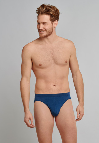 Supermini-slip donkerblauw patroon - Personal Fit Traveller
