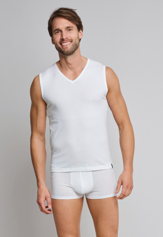 dc9360aecf tank tops 2-pack v-neck white - 95 5