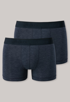 Shorts 2-pack nachtblauw - Personal Fit