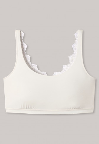 Bustier Spitze Modal creme - Modal and Lace