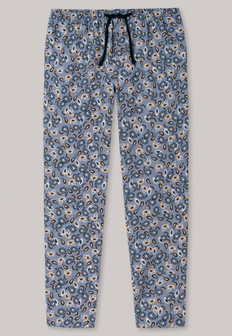 Pants long denim blue patterned - Mix + Relax
