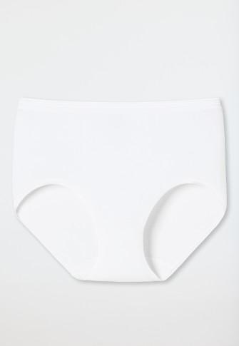 Culotte Midi blanc-côtelé - « Luxury »