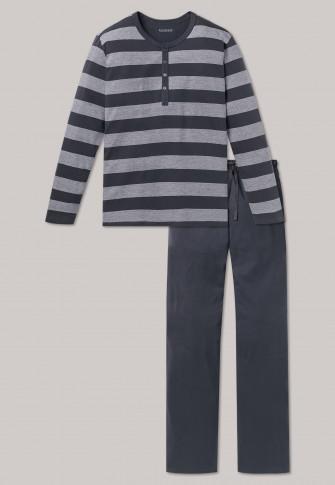Pyjama grijs-wit – Ebony