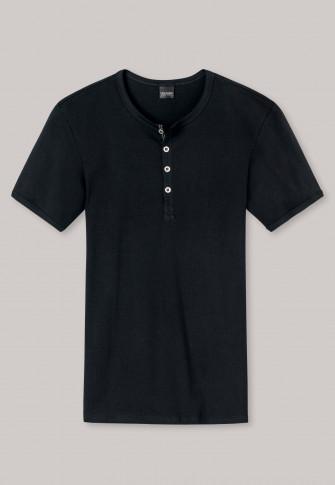 Shirt korte mouwen zwart - Naturbursche
