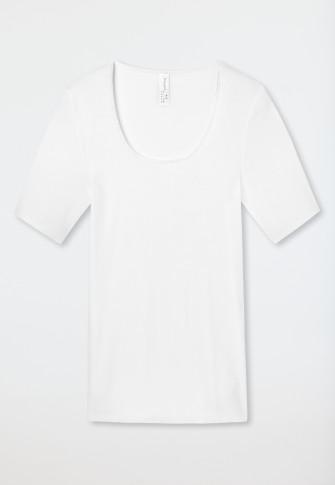 Shirt kurzarm weiß - Luxury