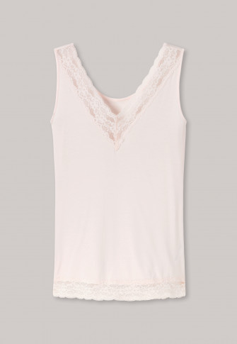 685d1a33ddf Straps reversible V-neck lace cream - Riviera Refresh
