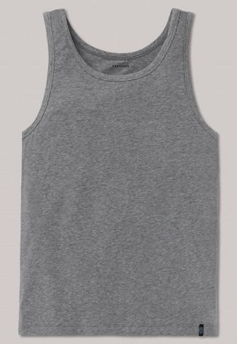 Unterhemd grau meliert - 95/5