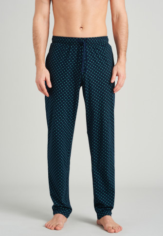Pants long green patterned - Mix & Relax