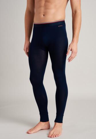 Pantalon long en Tencel, bleu nuit - sélectionné! inspiration premium