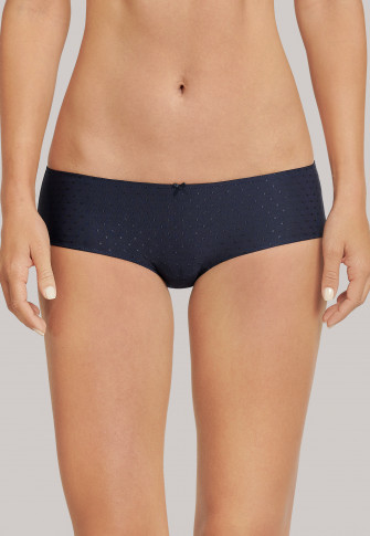 Panty micro quality midnight blue dotted - Pure Jacquard