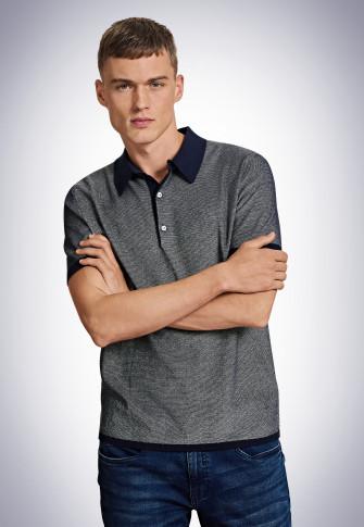 Poloshirt navy - Revival Lutz