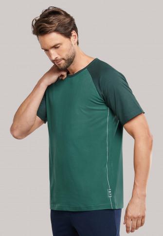 Shirt kurzarm grün - Mix+Relax 1875