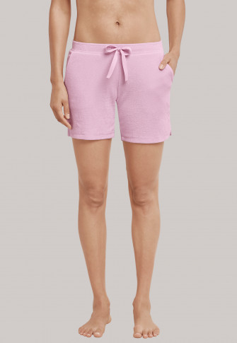 Shorts Frottee pink - Mix+Relax