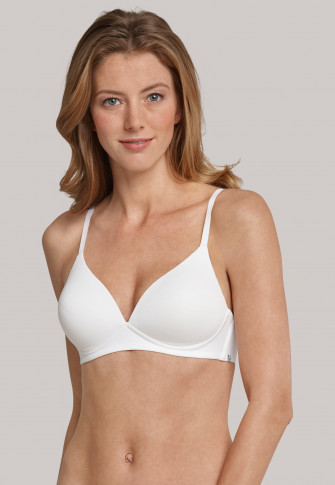 White soft bra with cup - 95/5