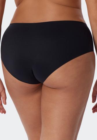 Culotte tissu micro noir - Invisible Soft