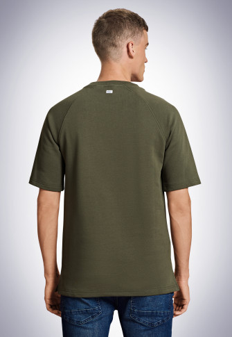 Short-sleeved sweater olive - Revival Friedolin