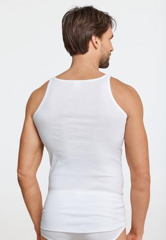Unterhemd Feinripp weiß - Original Feinripp