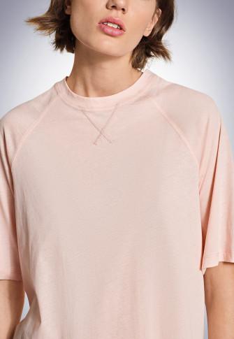 Boxy-Tee-Shirt lachs - Revival Carla