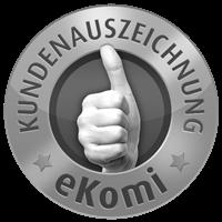eKomi - Kundenauszeichnung